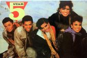 Five Star - 'Group Coats' Postcard